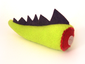 Severed Dragon Tail Catnip Toy