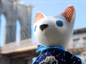 Handmade Cat Plush Dolls