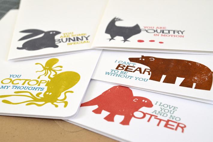 Animal Pun Greeting Cards