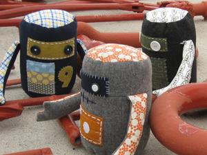 Handmade Robot Plush Dolls