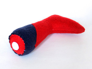 Defeated Heroes Severed Leg Catnip Toy
